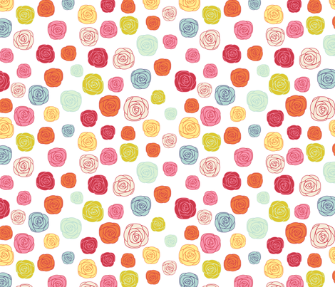 FlowerGarden fabric by mrshervi on Spoonflower - custom fabric