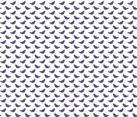 PurpleBirds fabric by mrshervi on Spoonflower - custom fabric