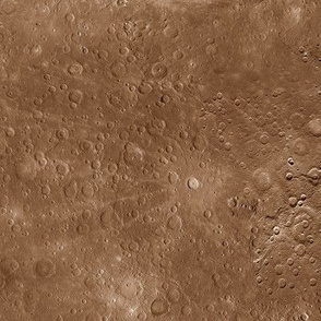 Map of Mercury in color