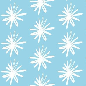 Floral Asterix Icey Ocean