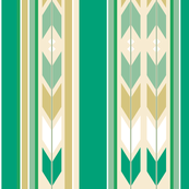 SouthWest Blanket Stripes Cactus Arrows