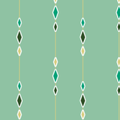 Cactus Diamond String in Green