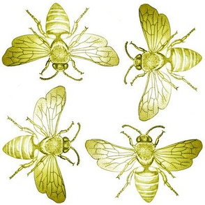 Bees of Jupiter in Yellow