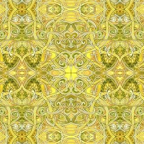 Lemon Lime Paisley Time