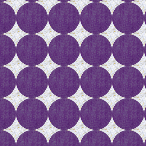silver and orchid sparkle dots fabric by ravynka on Spoonflower - custom fabric