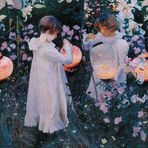 John Singer Sargent ~ Carnation Lily Lily Rose