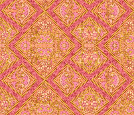 April Showers Bring May Flowers fabric by edsel2084 on Spoonflower - custom fabric