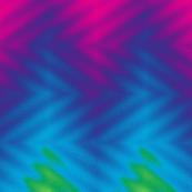 glass block rainbow chevron
