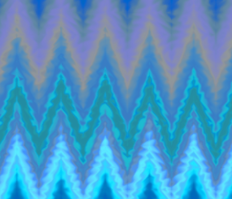 watery chevron fabric by weavingmajor on Spoonflower - custom fabric