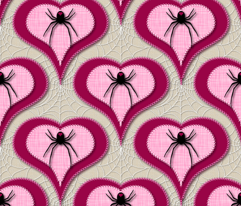 Love Bites fabric by vo_aka_virginiao on Spoonflower - custom fabric
