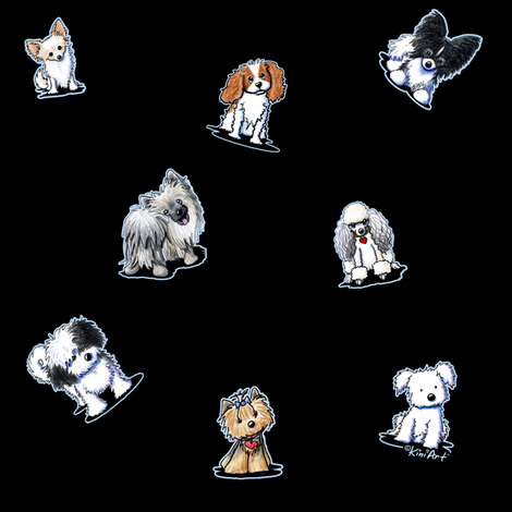 Happy Little Dogs (Custom)