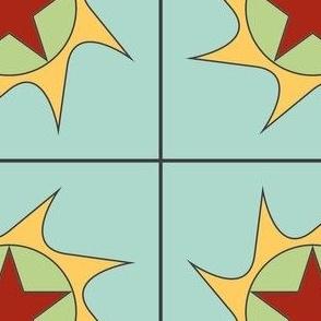 CJC Quilt Sun Star