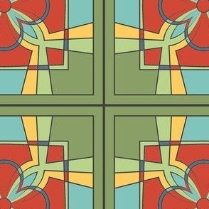 CJC Quilt Stained Glass