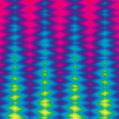 Rainbow Flame Tie-Dye