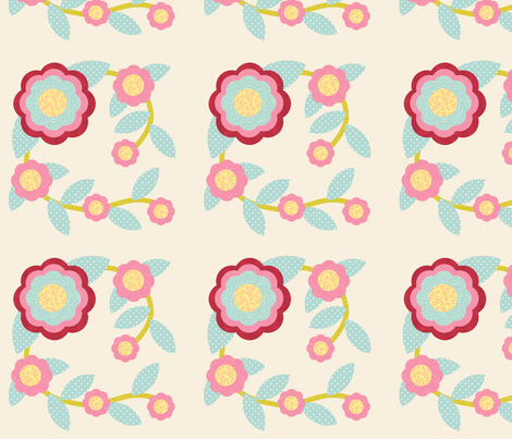 roseofsharon1 fabric by cindypie on Spoonflower - custom fabric