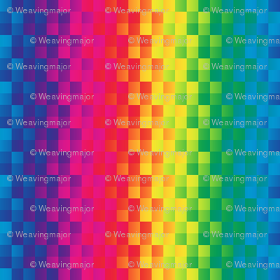 rainbow square stripe