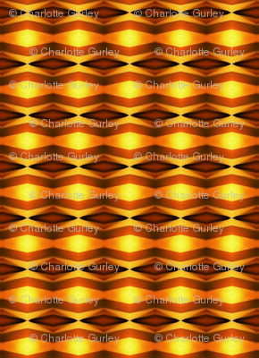 Sunset Mirrored Chevrons