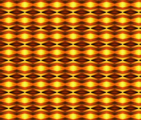 Sunset Mirrored Chevrons fabric by charldia on Spoonflower - custom fabric