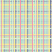 Spring Buds Plaid