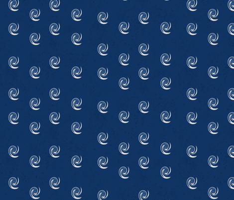 Navy Swirls