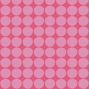 wobbley dot in pink