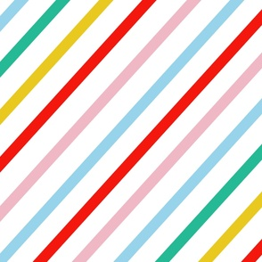 Candy Collection | Diagonal Stripe