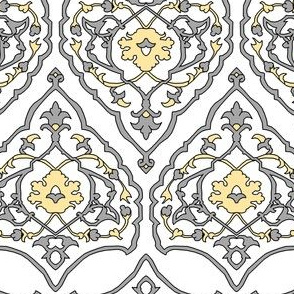 16th Century Carpet Silver and Gold