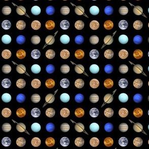 mini planetary polkadot
