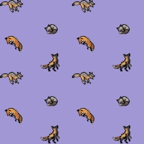 Pixelfox Purple
