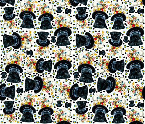 Old School Magic fabric by whimzwhirled on Spoonflower - custom fabric