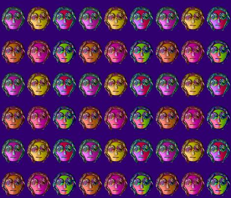 RASTA GUY on Deep Blue Violet
