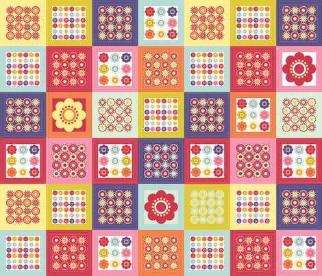 Spring bright fabric by ebygomm on Spoonflower - custom fabric