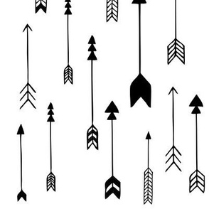 Arrows Black and White