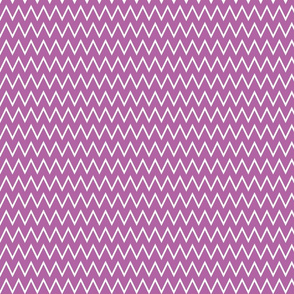 True Radiant Orchid Chevron