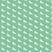 White Pony Peppermint Diagonal