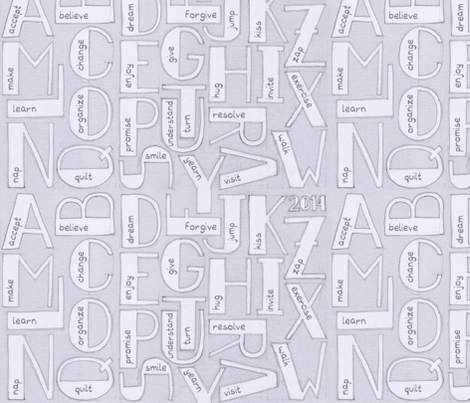 Resolution alphabet fabric by analinea on Spoonflower - custom fabric
