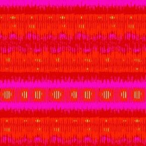 Orange festive stripes