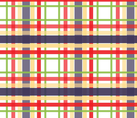 plaids1 fabric by spontaneouscombustion on Spoonflower - custom fabric