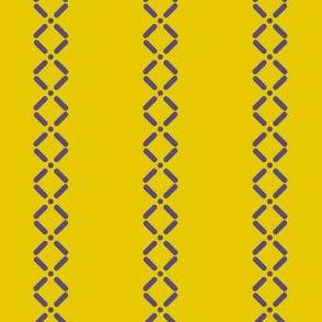 Cross Dot Stripe (Spring Floral Quilt Block palette v4)