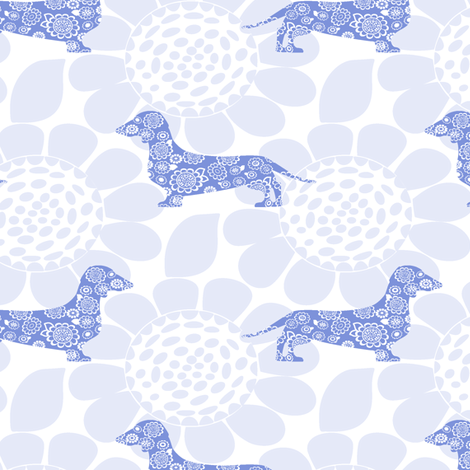 Gus in Bloom fabric by lbishop on Spoonflower - custom fabric