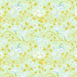 Spring Floral blue blender