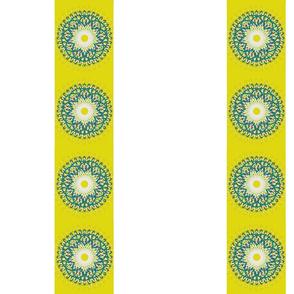 Floral Spiral Stripe