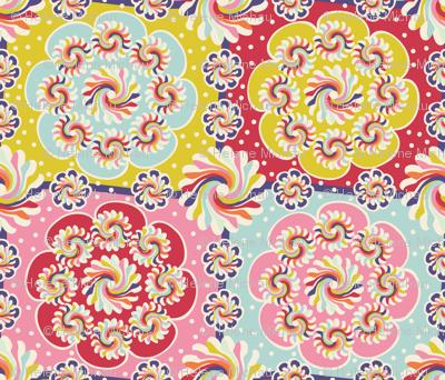 Mandala quilt