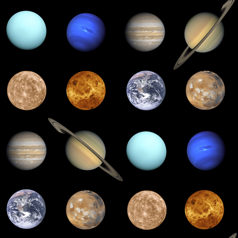 planetary polkadot