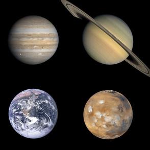 huge planetary polkadot