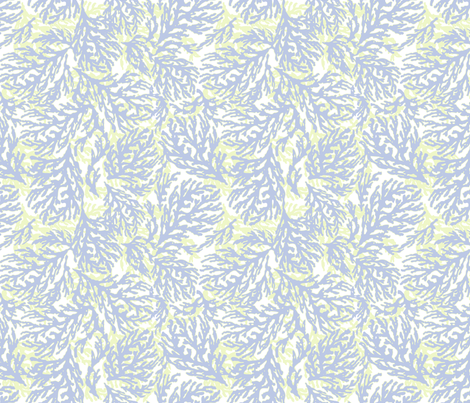 Sea Fandance fabric by lulabelle on Spoonflower - custom fabric