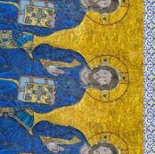 Byzantine Mosaic - Christ