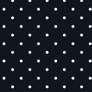 Little dots White on BLACK