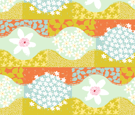 Spring in the forest fabric by mariaspeyer on Spoonflower - custom fabric