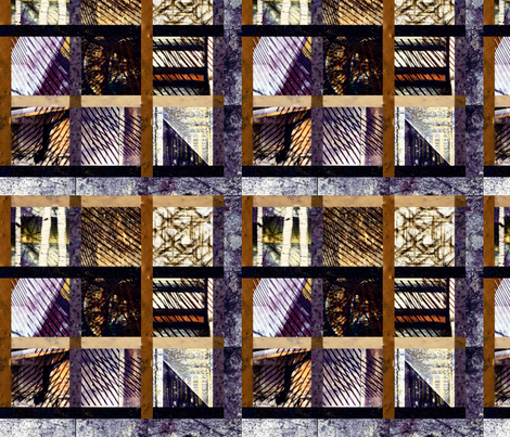 CITY_WINDOWS__9 fabric by lulutigs on Spoonflower - custom fabric